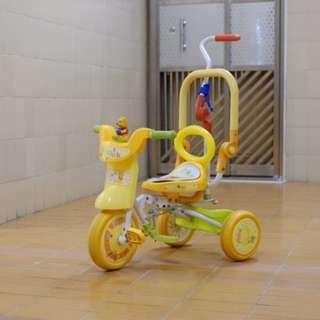 兒童單車 小童單車 三輪車 嬰兒 維尼 pooh