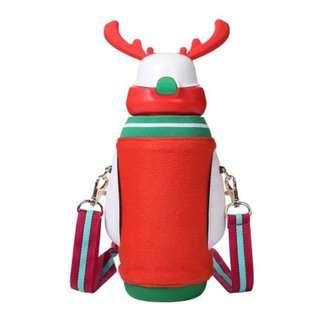 🚚 CHRISTMAS SALE 25% OFF 🎉🎉 1004 FACE Deer Insulated Bottle