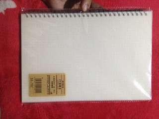 Muji Style B5 Dotted Notebook