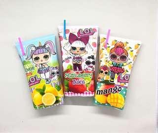 Tempat pensil juice box LOL