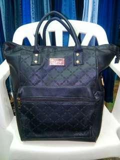 Vintage 3-Ways Black Bag
