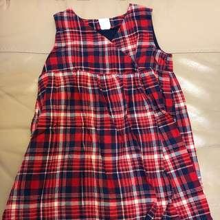H&M 格仔裙(90cm)