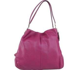 Coach Purple Phoebe Sholder Bag