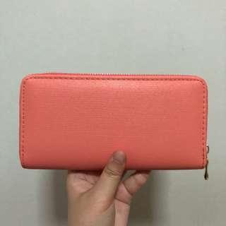 🚚 (Ready Stock) Orange Long Wallet