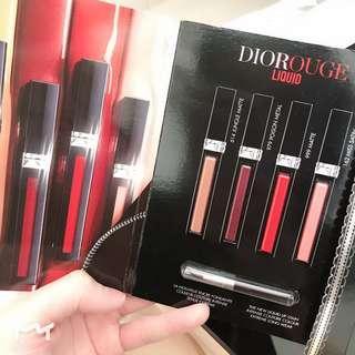 Dior lip card