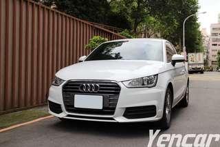 【阿彥嚴選認證車-Yencar】2015 奧迪A1、中古車、二手車、全額貸、車換車