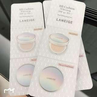 Laneige BB Cushion Sample $8/個