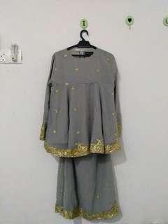 (reduce) Baju Kurung Moden Shawlpublika
