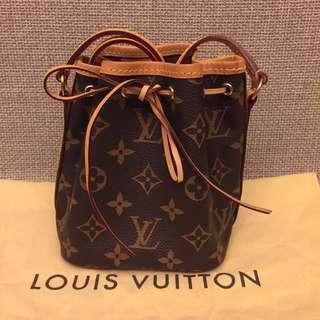 LV nano noe Louis Vuitton 迷你水桶包