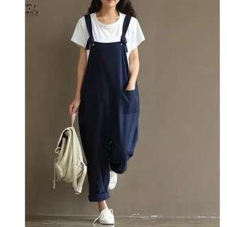 a83c13d5c1 (PO) S-5XL 2018 Summer Autumn Zanzea Rompers Womens Jumpsuits Vintage  Sleeveless Backless