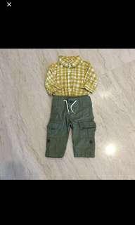 Baby gap shirt and pants