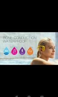 Bone conduction Bluetooth headset