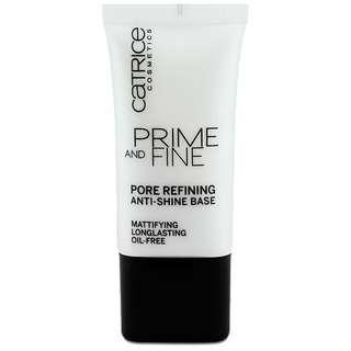 FREE POS catrice prime.and fine mattifying primer