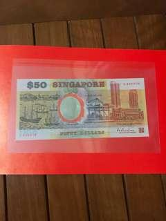 $50 Commemorative Note with folde