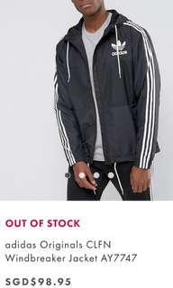 Adidas Original windbreaker jacket