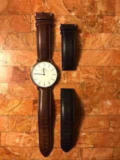 Daniel Wellington watch and strap