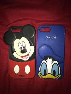 Mickey mouse & donald duck iphone 7+ case