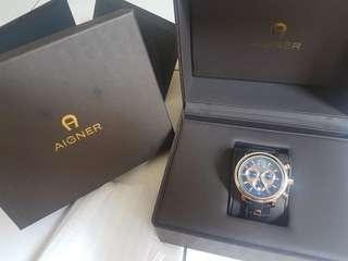 For sale jam tangan Aigner bari chrono