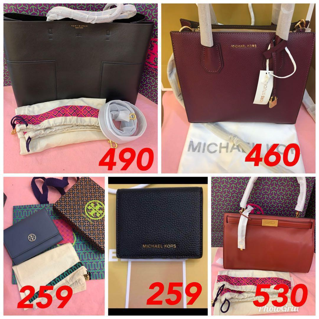 (25/12/18)Ready Stock handbag coach tory Burch Michael kors listing