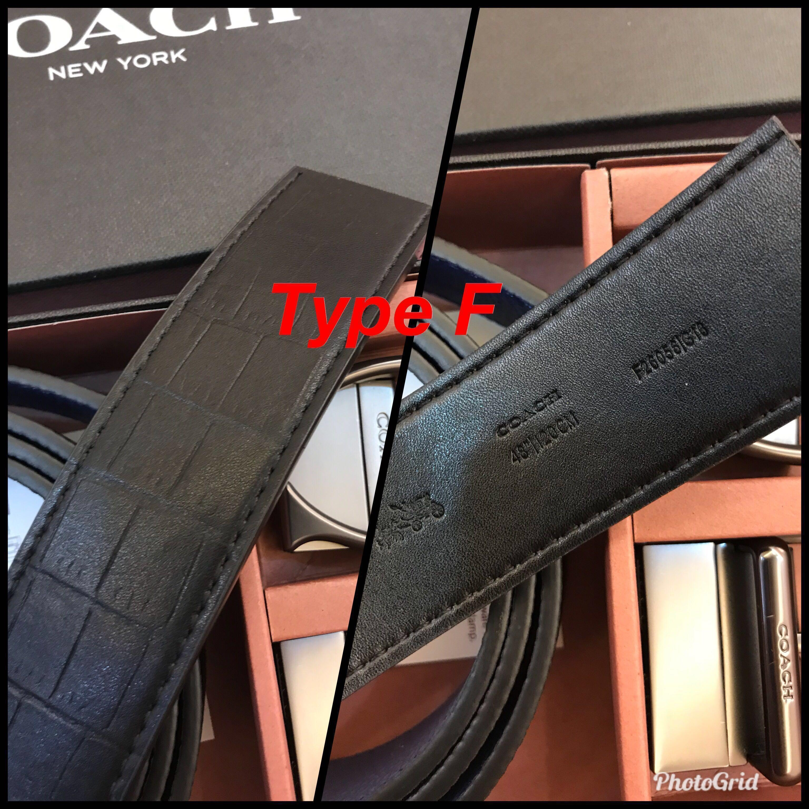 (25/12/18)Ready Stock Original Coach Men Belt