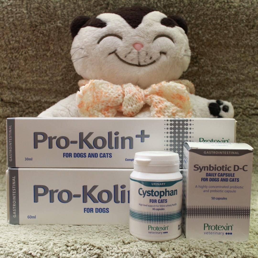 英國直送 Protexin Synbiotic DC / Pro Kolin / Cystophan 貓狗保健用品