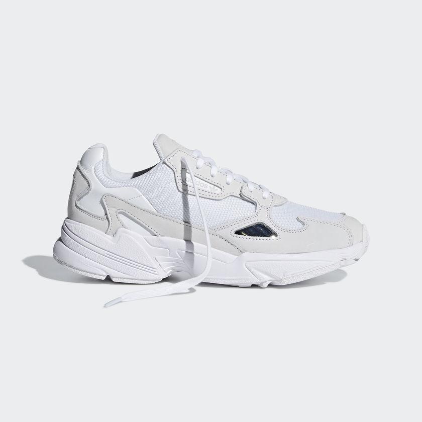 59b3711e00e9b Adidas Falcon White Abc Mart Women S Fashion Shoes Sneakers On