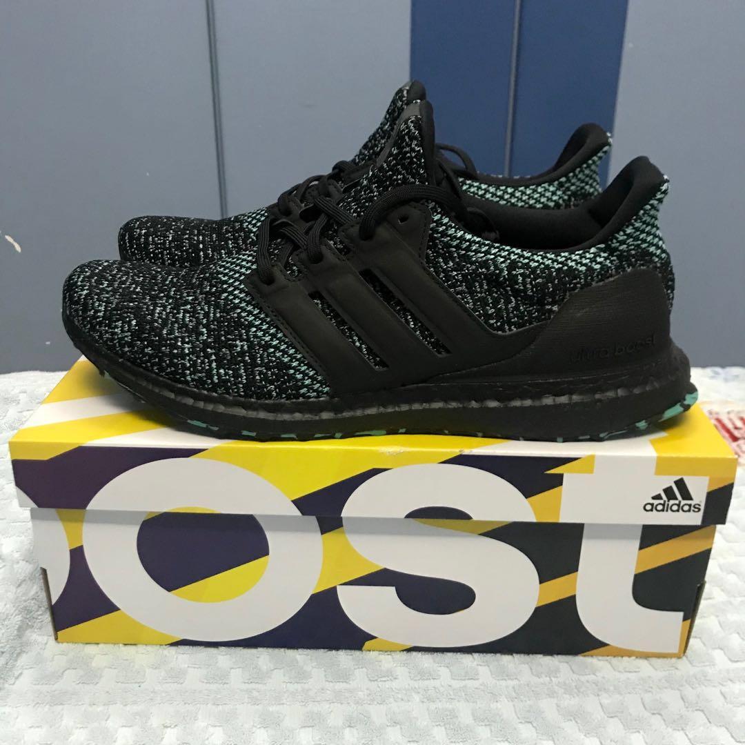 102059cae73 Adidas Ultraboost 4.0 True Green EE3733