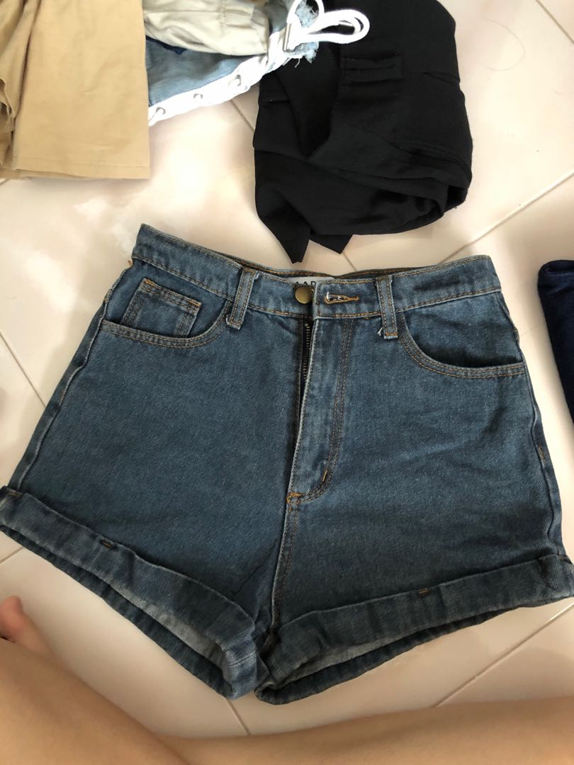 bb54701ad5 American apparel inspired high waisted shorts, Women's Fashion ...