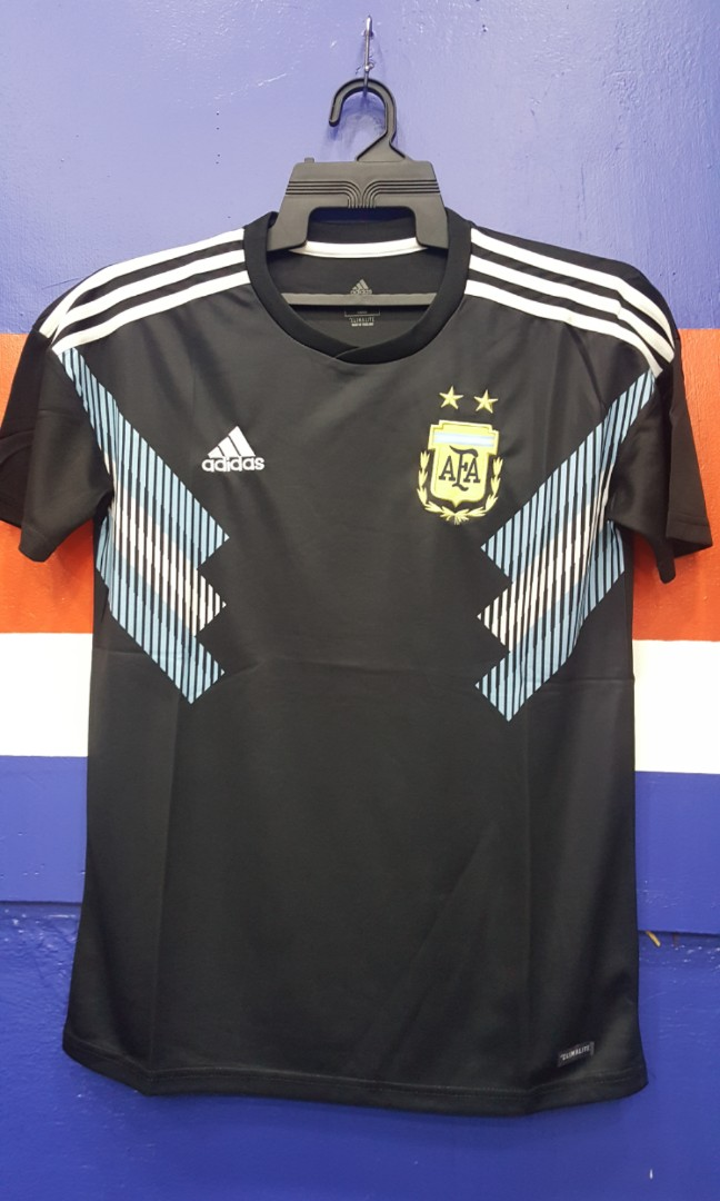 83317df4fce Argentina Away jersey 2018/19, Sports, Sports Apparel on Carousell