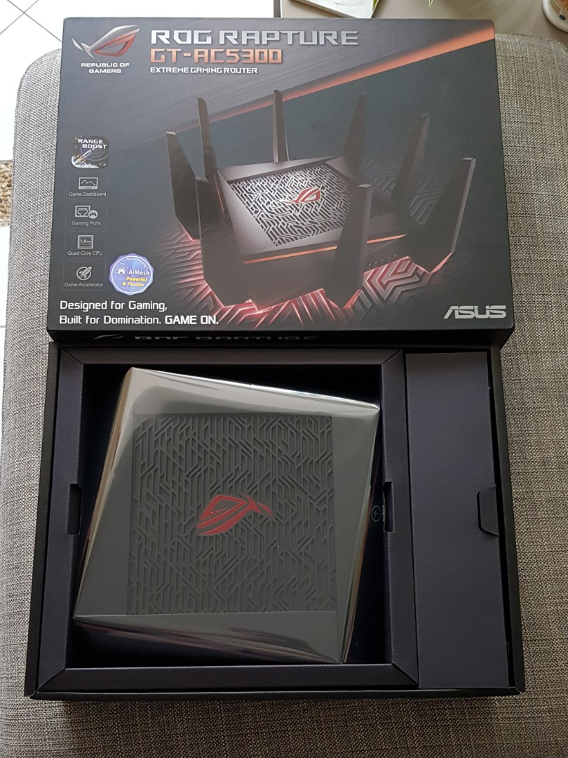 Asus ROG Rapture GT-AC 5300, Electronics, Others on Carousell
