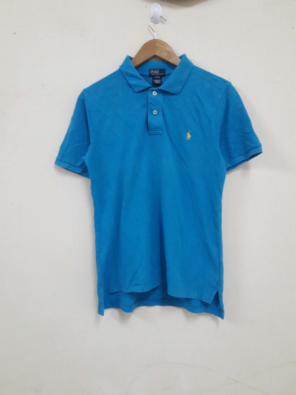 6b225a0a Baju tshirt kolar polo ralph lauren original pit 18, Men's Fashion,  Clothes, Tops on Carousell