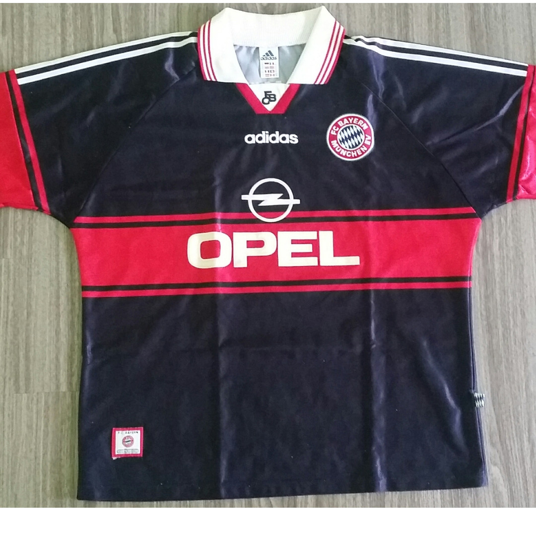 new concept fc854 b787c Bayern Munich Adidas 1997-99 Home Jersey XXL 2XL Vintage ...