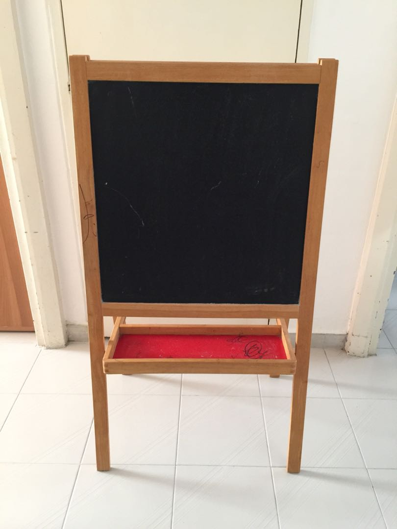Blessings Used Ikea Mala Easel Collect From Bedok South
