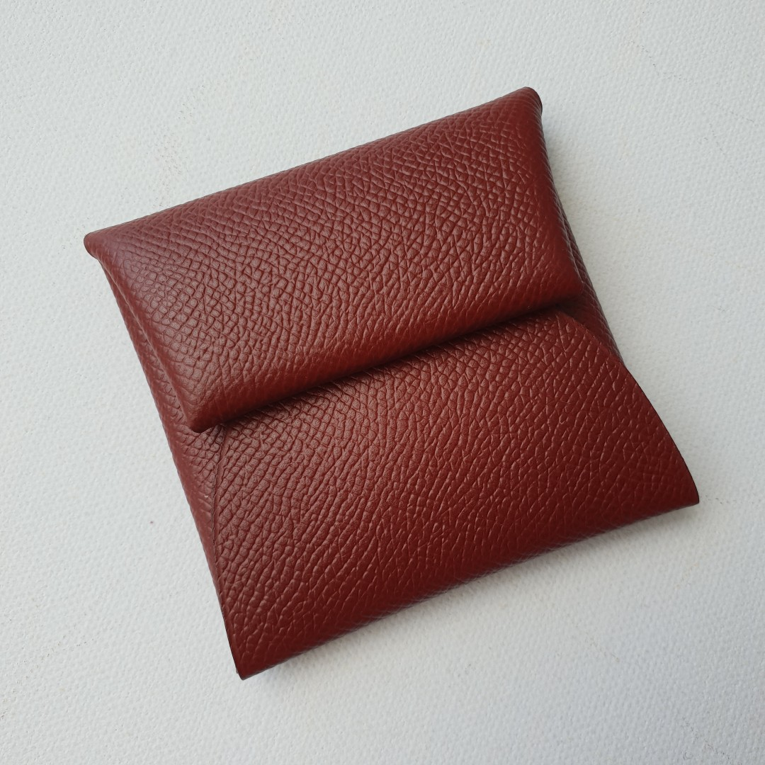 2b9797ec0 Brand New Hermes Bastia Coin Purse, Rouge H in Epsom, Luxury, Bags ...