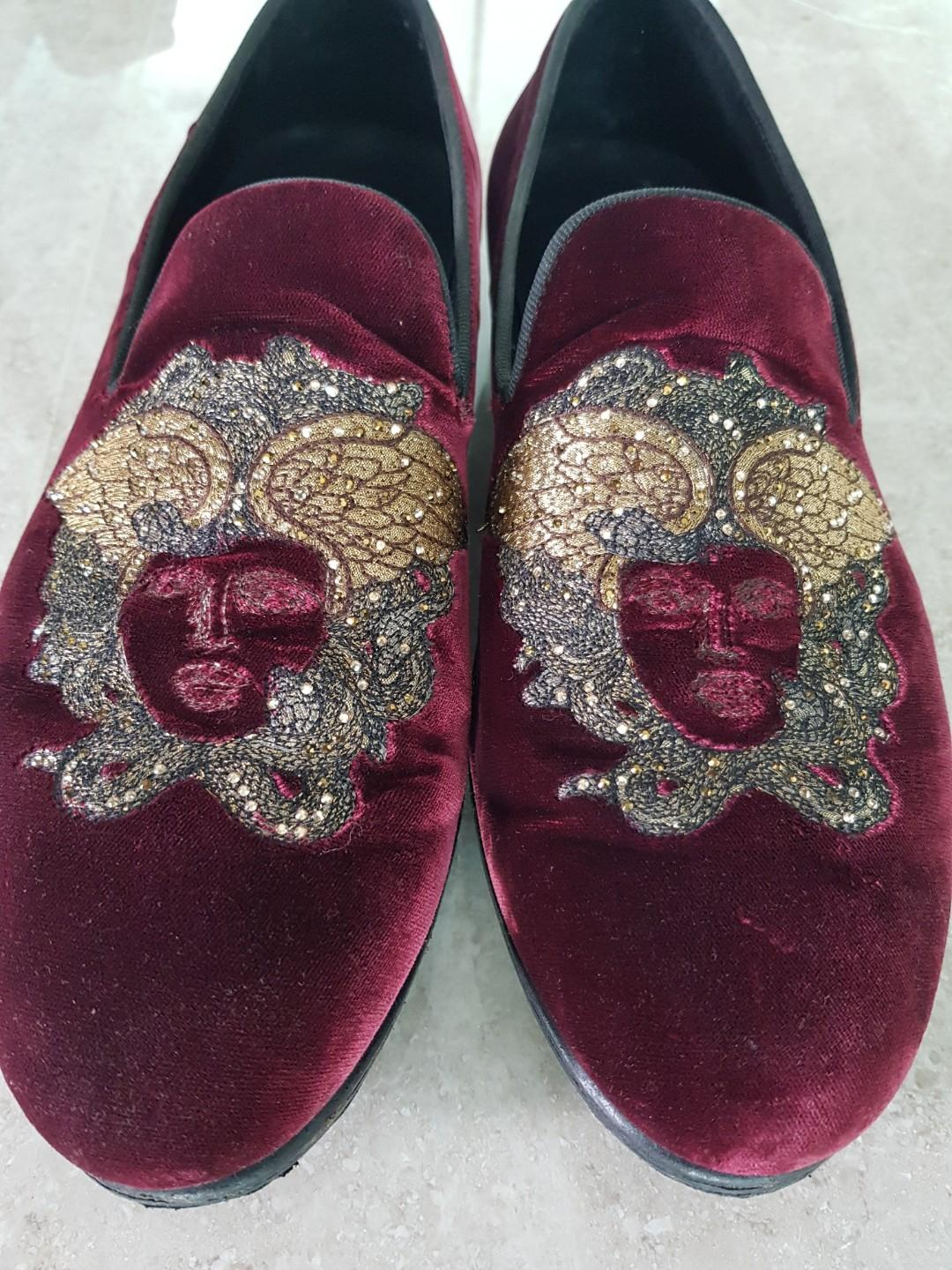 100% Authentic Versace Loafers Shoes cheapest on carousell. Steal. Promotion