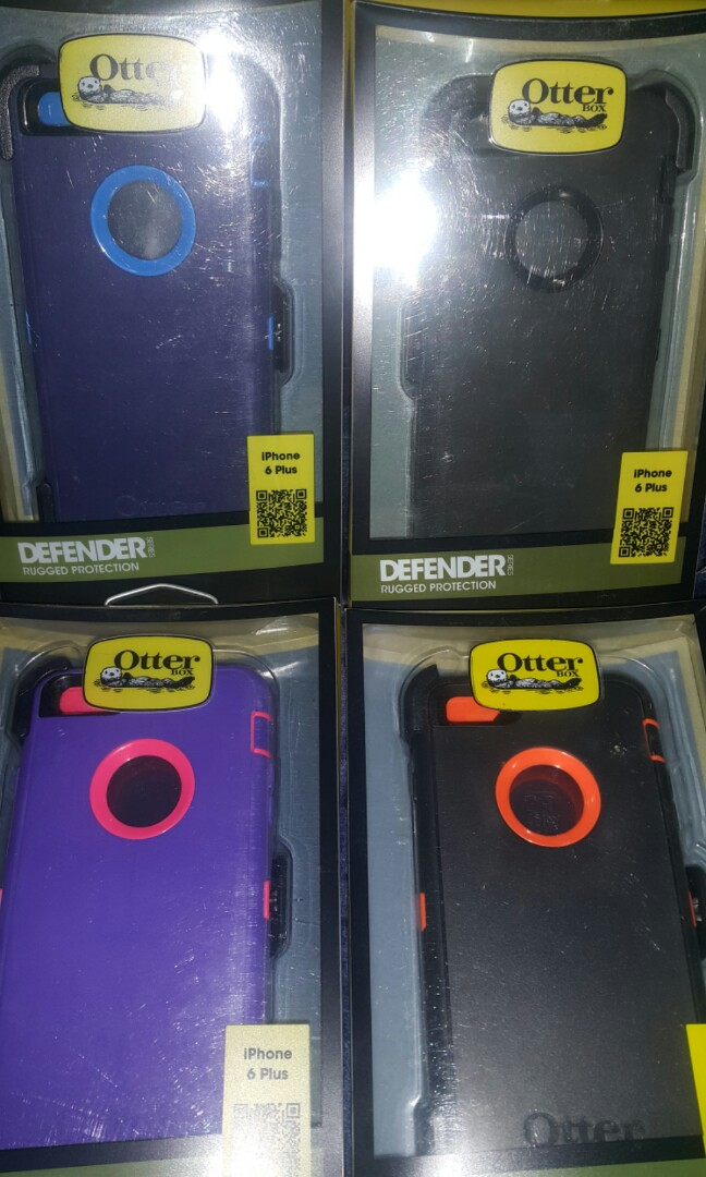COMPATIBLE OEM APPLE IPHONE 6 + PLUS OTTERBOX DEFENDER OEM PROTECTOR CASE  SAY NO MORE TO BENDGATE!