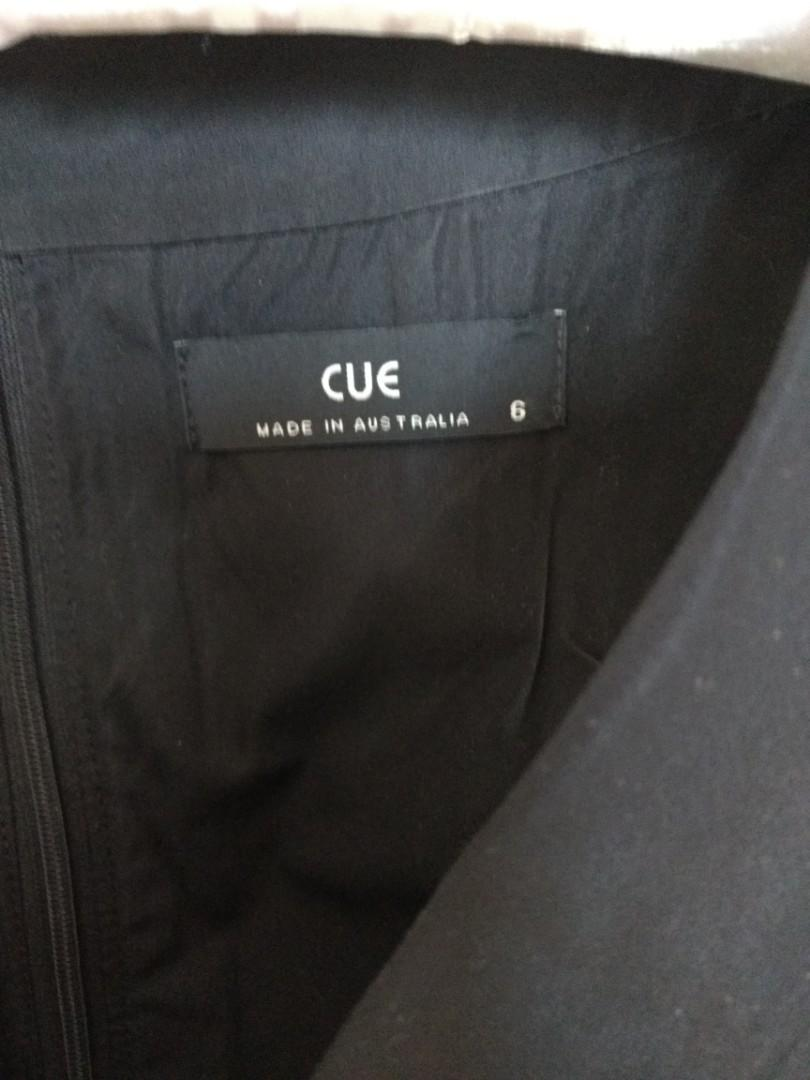 Cue black dress soze 6