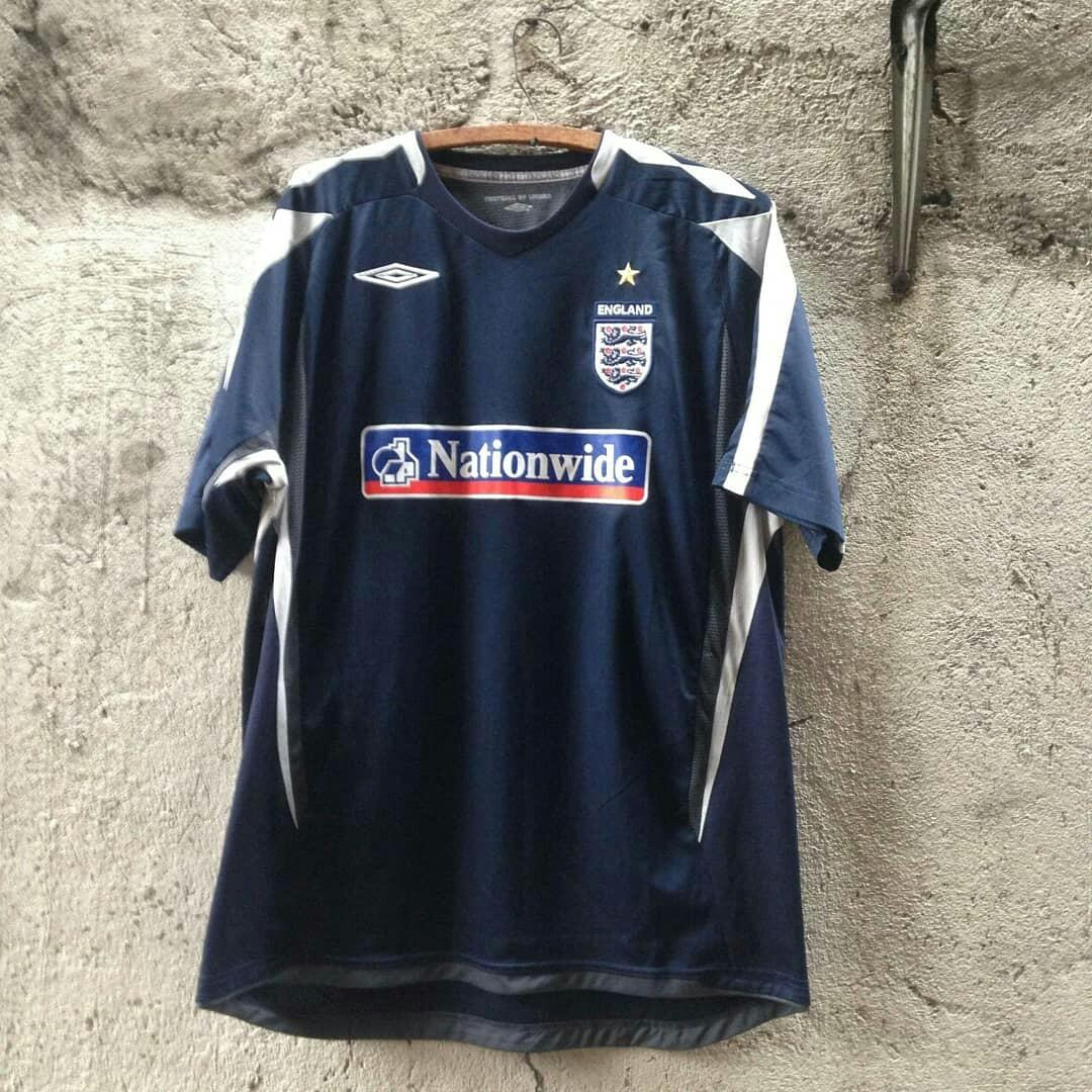 new styles e4755 e68a9 ENGLAND NATIONAL FOOTBALL UMBRO SOCCER JERSEY on Carousell