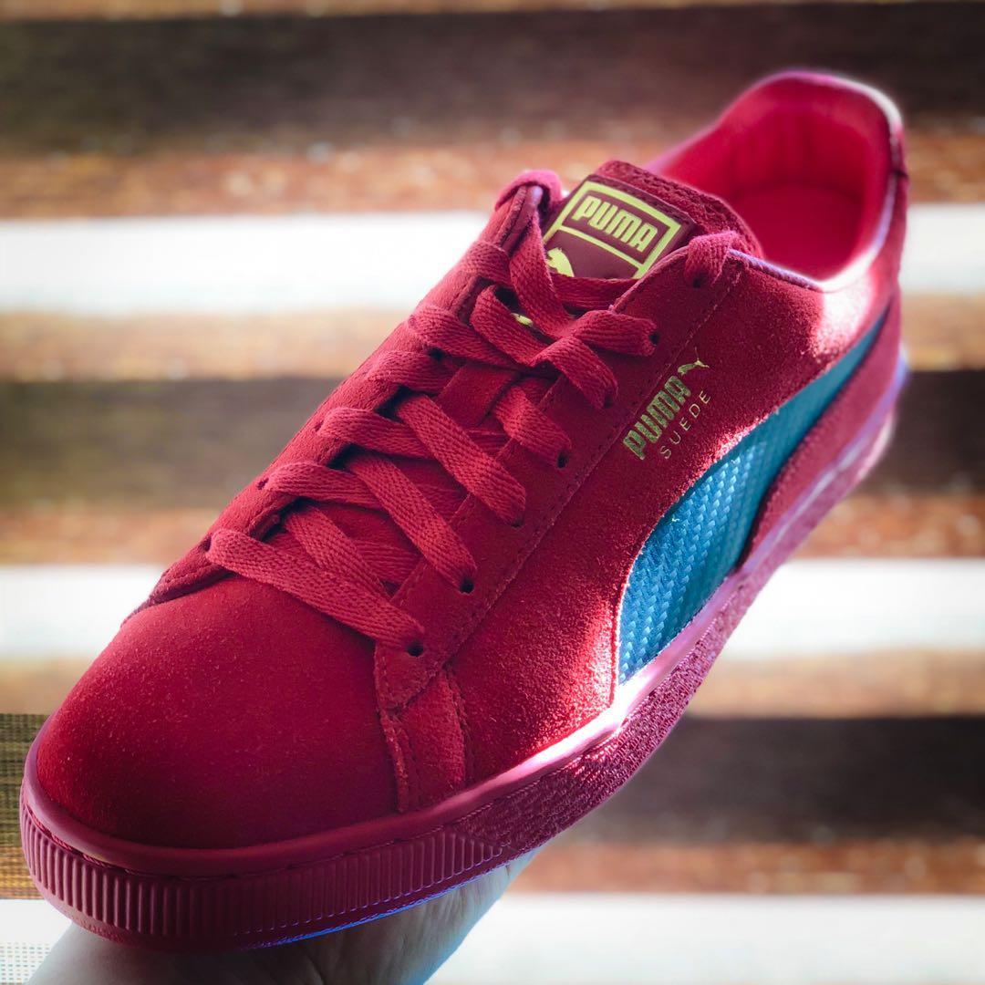 promo code 74195 e1734 Ferrari X Puma Suede 50 Rossa Corsa (Not Nike, Adidas ...