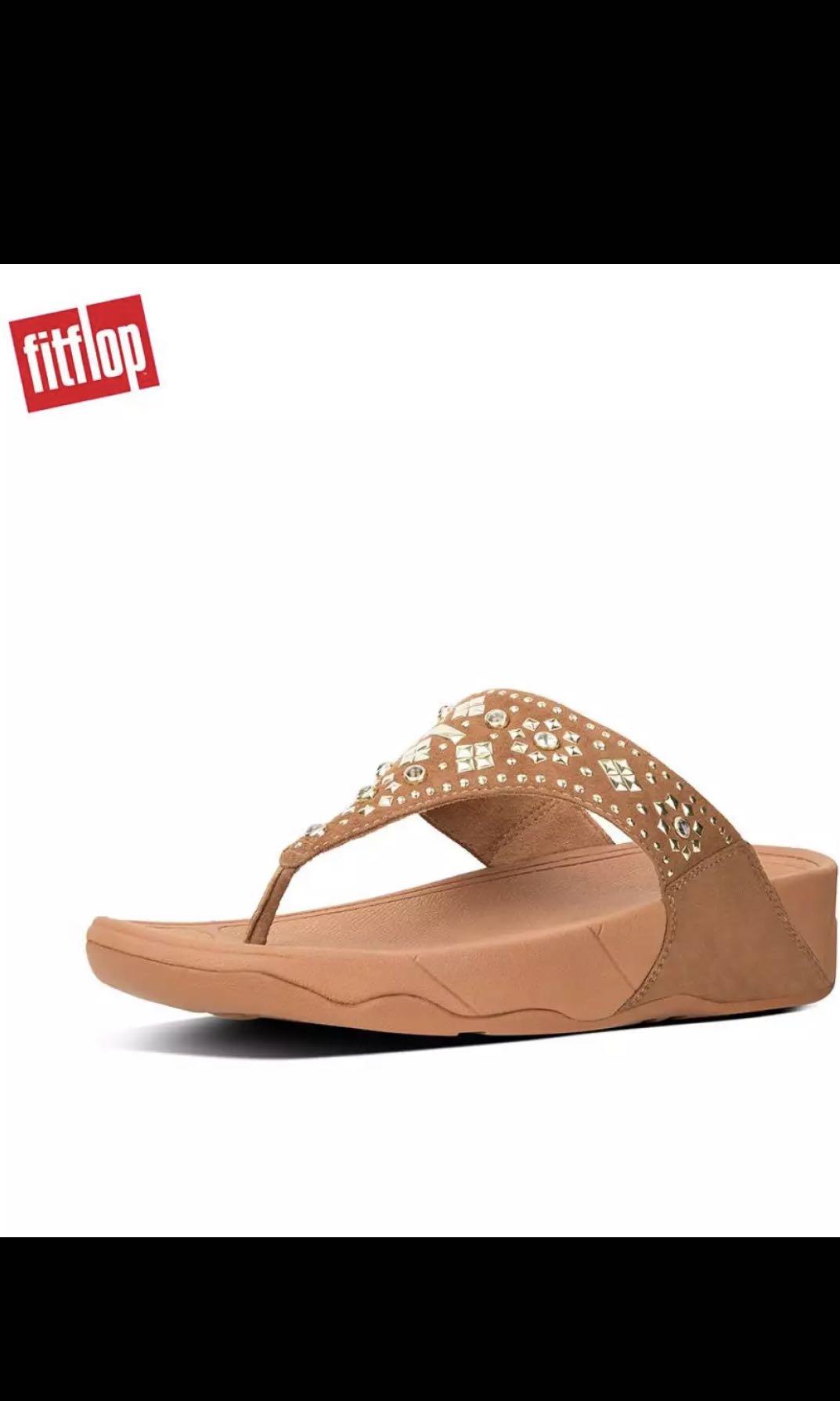 b050192aa8d6 Fitflop Women s Sandals K50 LULU AZTEK STUD TOE THONG SANDALS ...