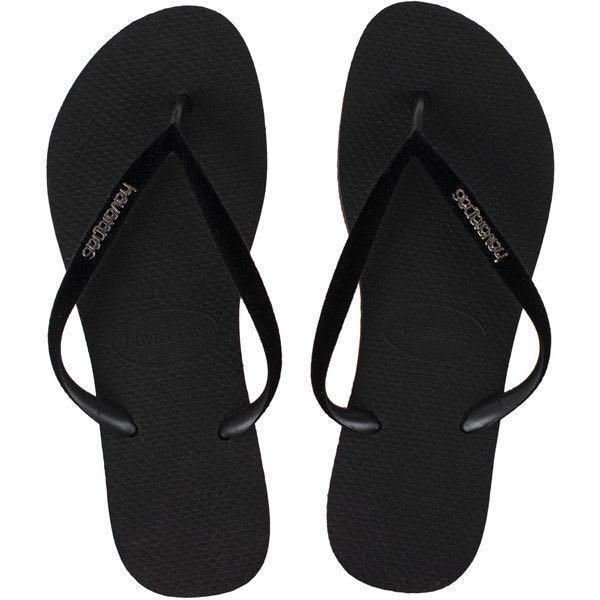 d5f3b9db0b9 Havaianas Black Velvet Flip Flops