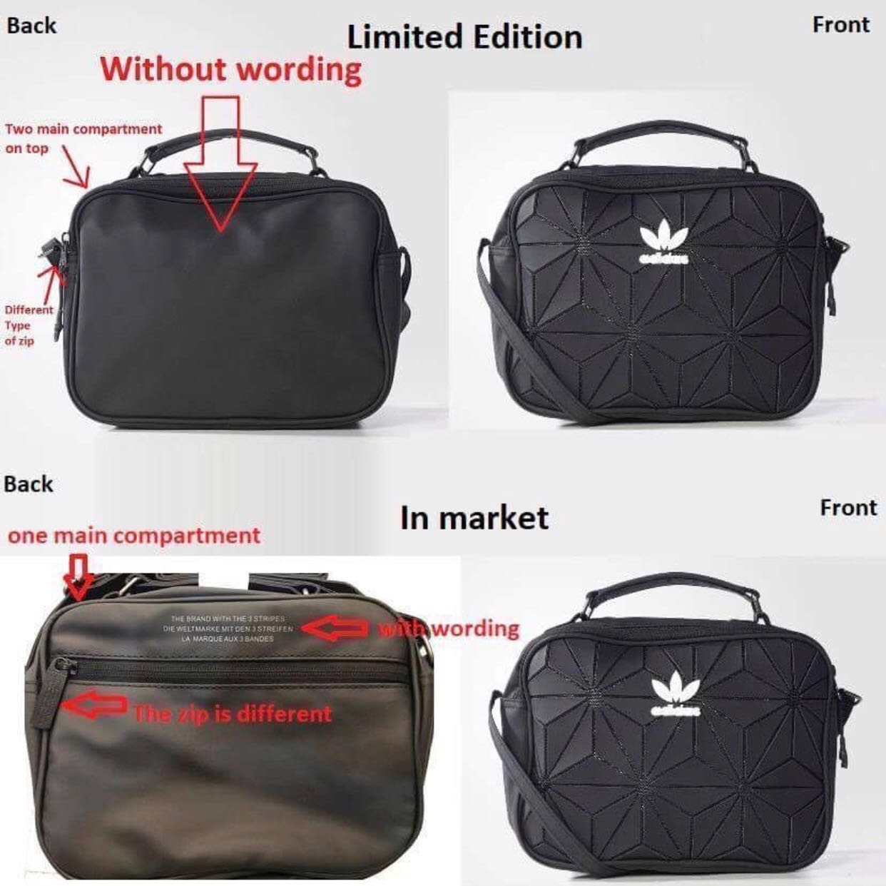 Import Set Adidas Mini Airliner bag (Comes with Adidas original ... 6ac3439504736