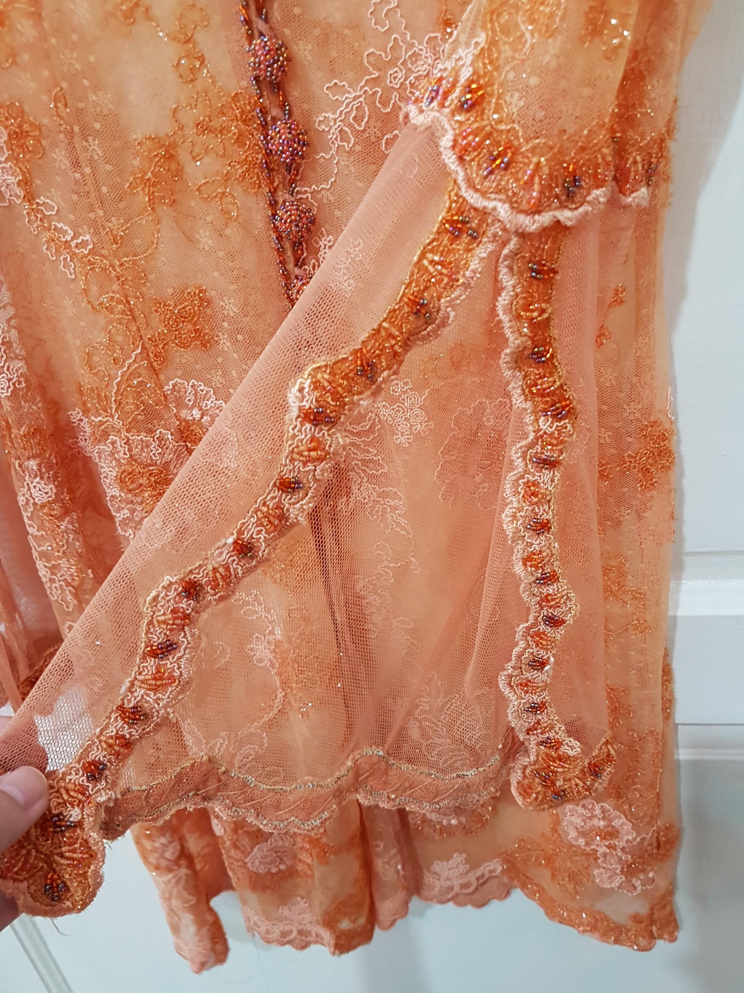 Kebaya Wisuda Orange Women S Fashion Women S Clothes Tops On