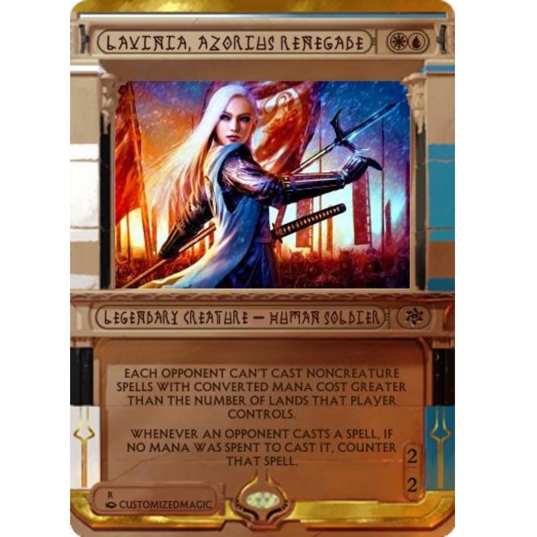 Lavinia, Azorius Renegade, Toys & Games, Board Games & Cards