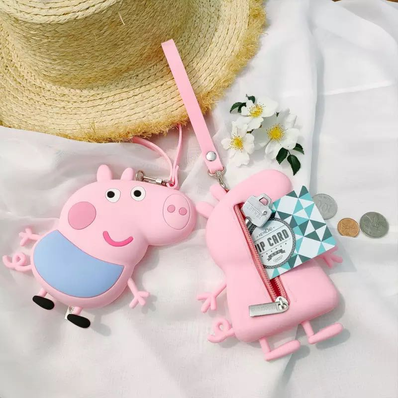 50bc7877 Little Peppa Pig Coin Pouch - 5R1 Size: 14*11.5cm, Babies & Kids ...