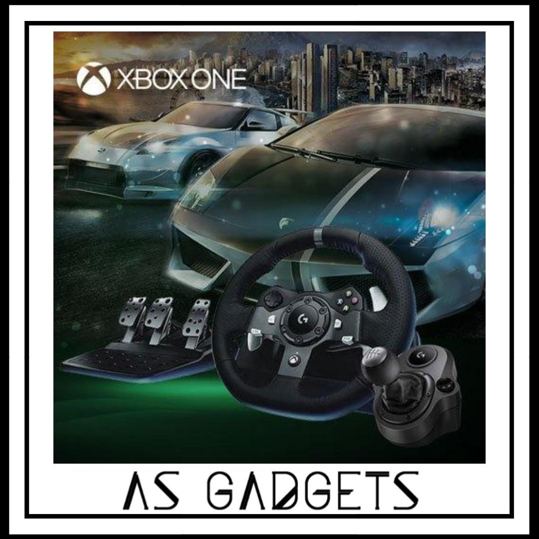 Logitech G920 Driving Force Racing Wheel For Xboxone Pc Logitech