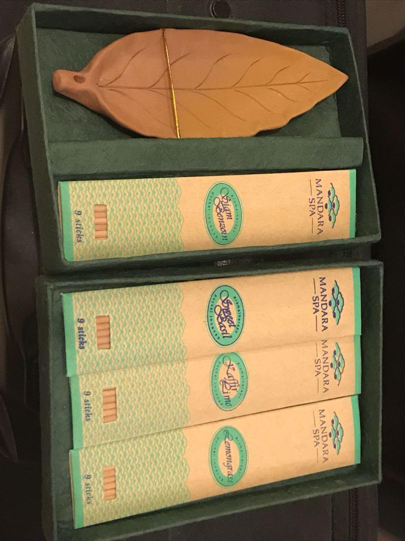 Mandara Spa - pocket incense