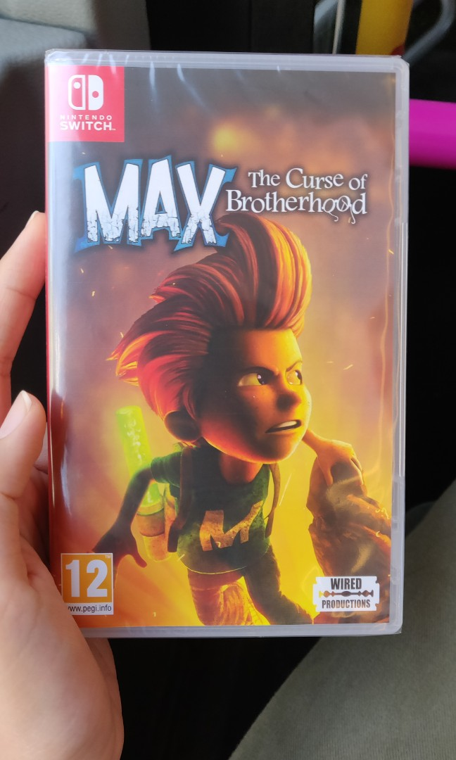 Max the curse of brottherhood nintendo switch game