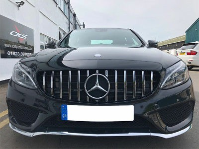 Mercedes C Class W205 GT Grill Promotion
