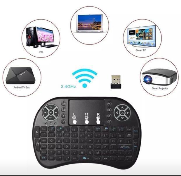 Mini WIFI keyboard+Mouse for Android Box, TV (3 color